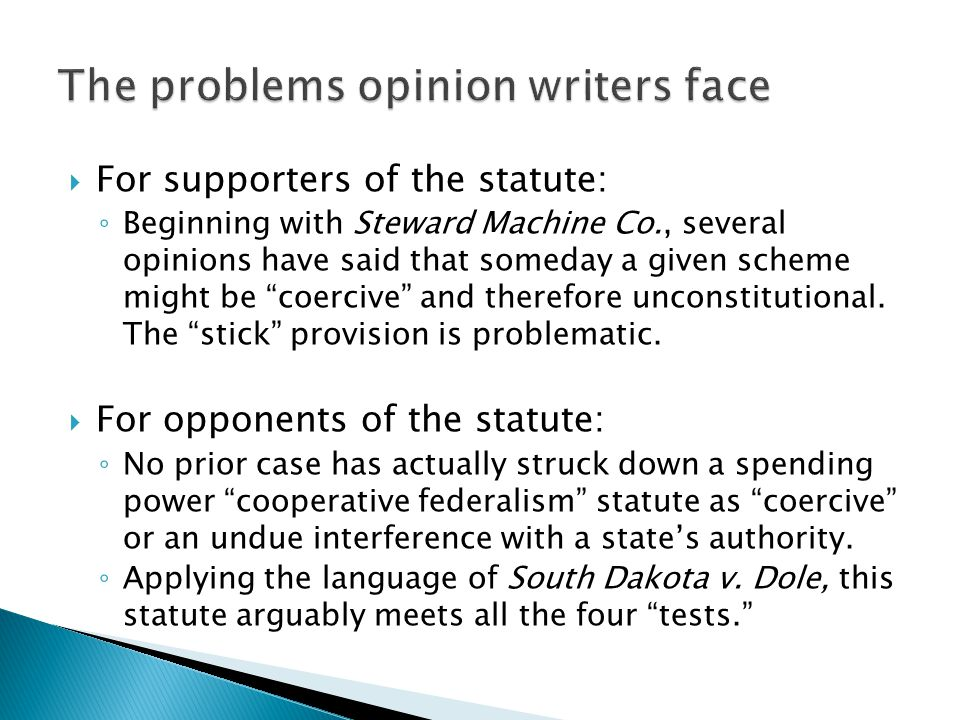 The problems opinion writers face