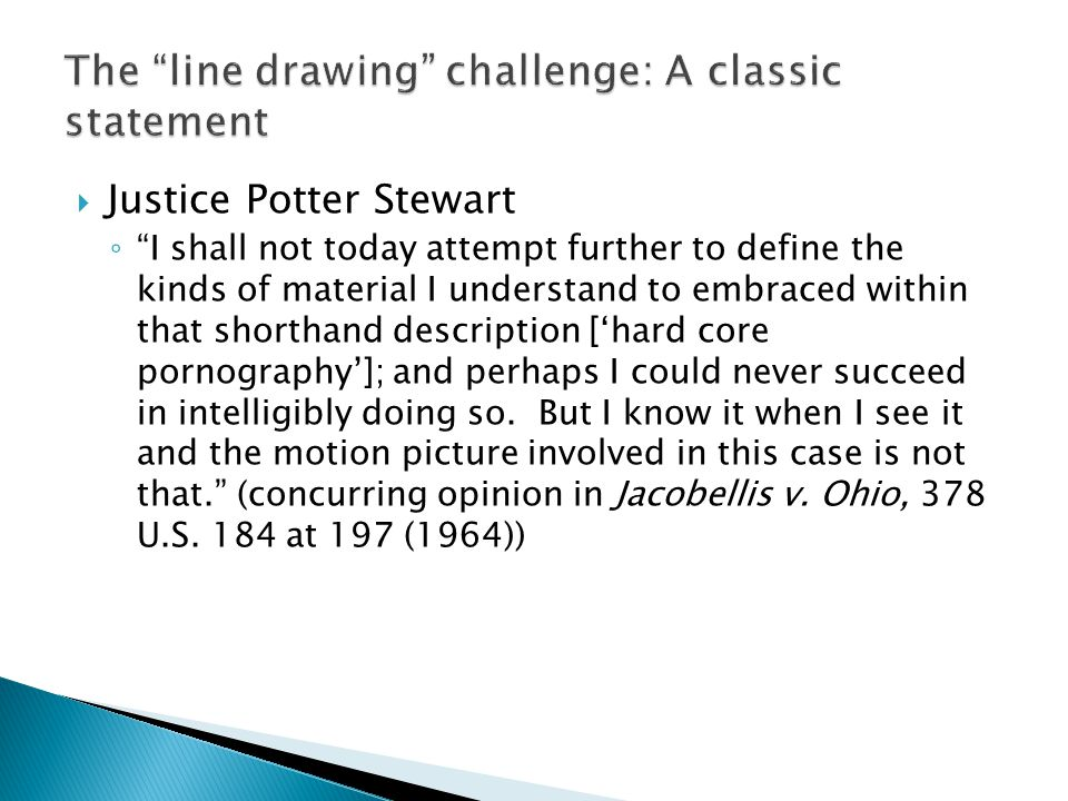 The line drawing challenge: A classic statement