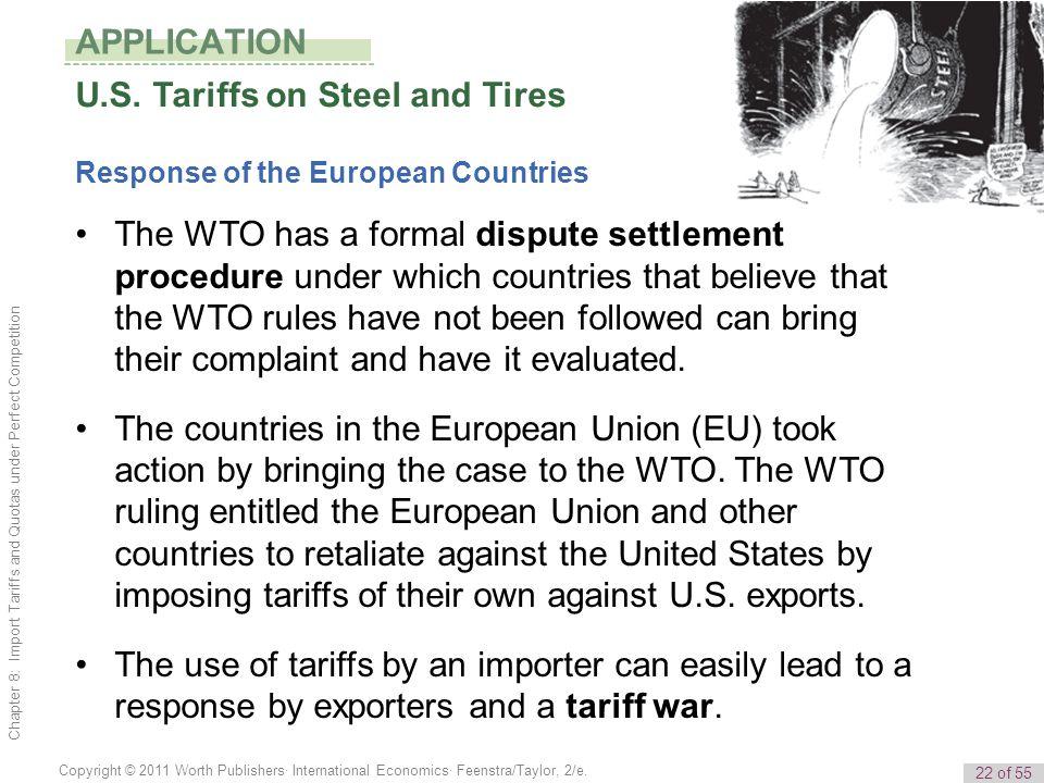 U.S. Tariffs on Steel and Tires