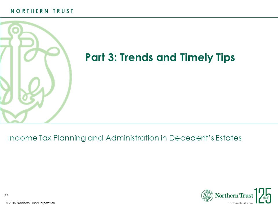 Part 3: Trends and Timely Tips