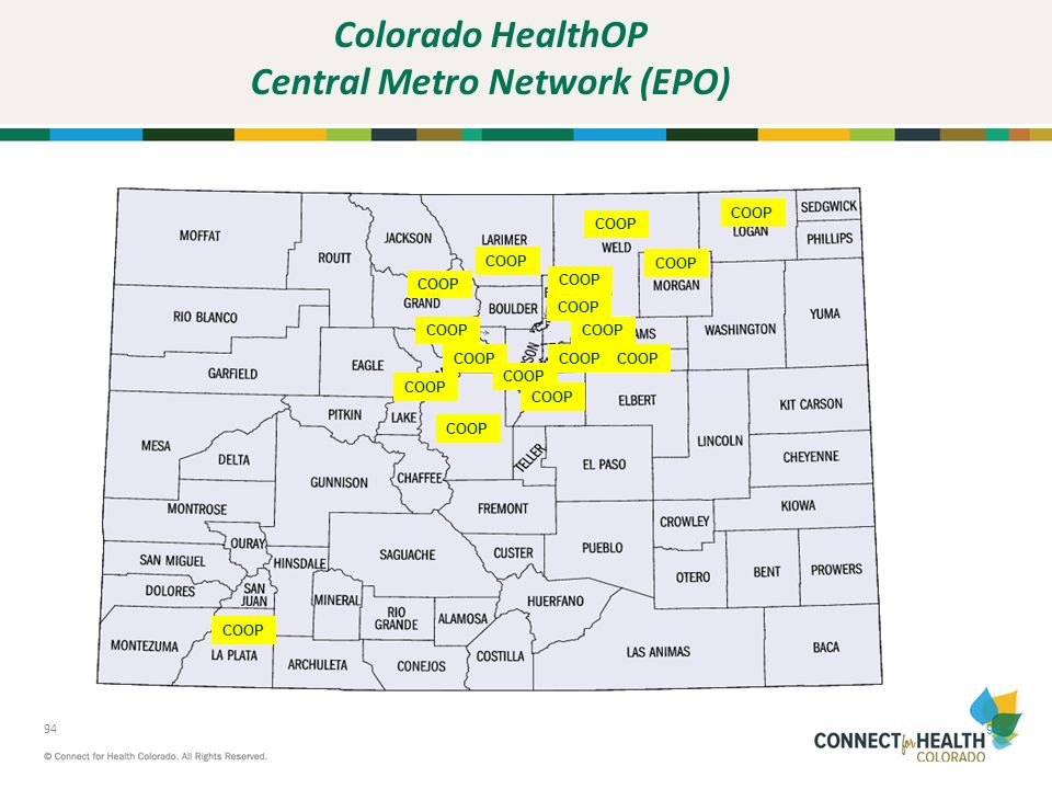 Colorado HealthOP Central Metro Network (EPO)
