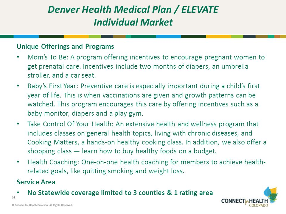Denver Health Medical Plan / ELEVATE Individual Market