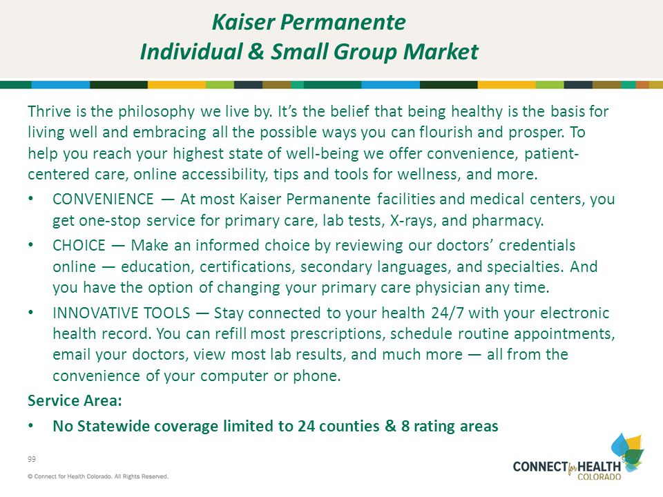 Kaiser Permanente Individual & Small Group Market