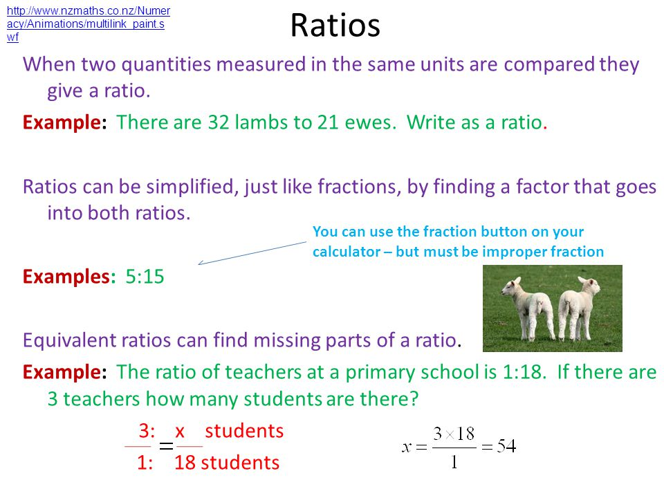 http://www.nzmaths.co.nz/Numeracy/Animations/multilink_paint.swf Ratios.