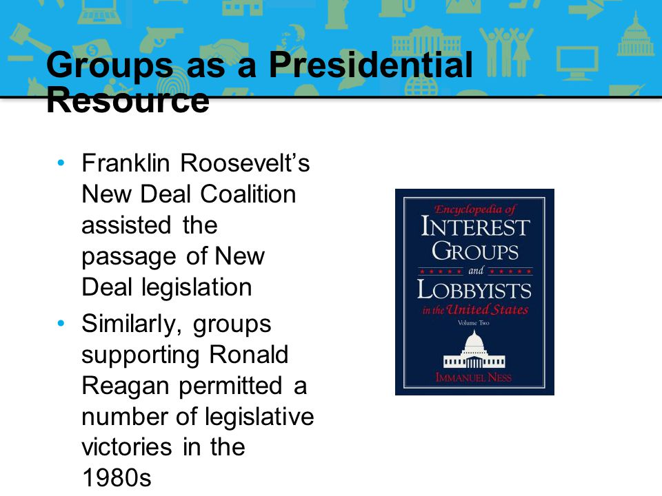 Groups as a Presidential Resource