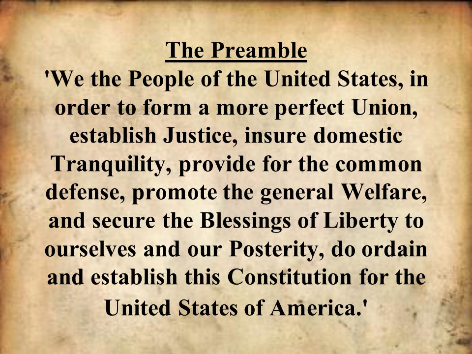 The US Constitution: Preamble, Articles and Amendments - ppt download
