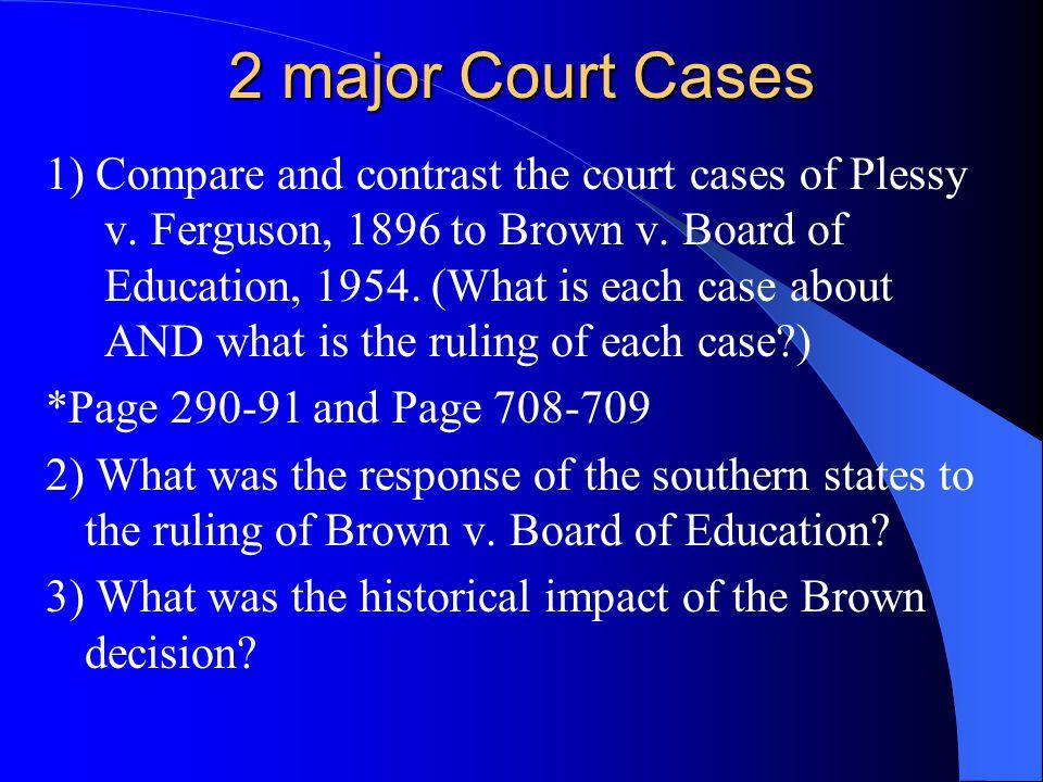2 major Court Cases