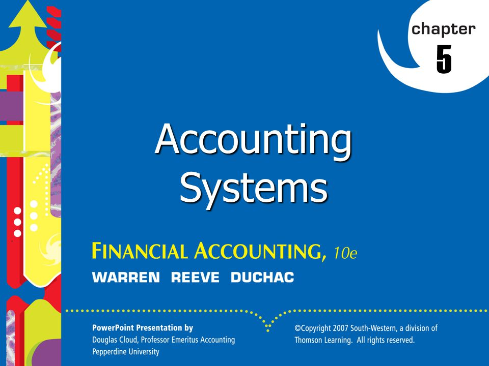 5 Accounting Systems
