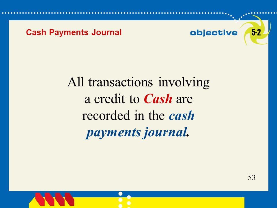 Cash Payments Journal 5-2.