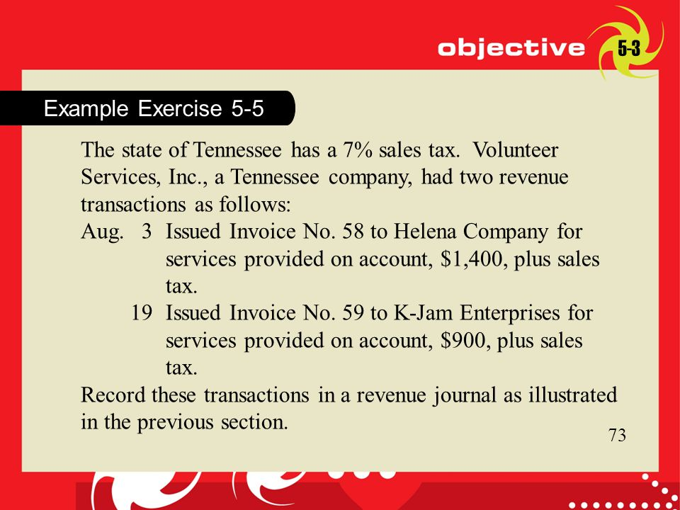 19 Issued Invoice No. 59 to K-Jam Enterprises for
