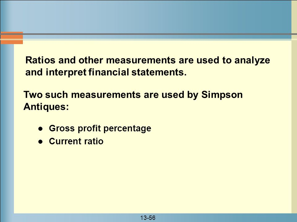 Two such measurements are used by Simpson Antiques: