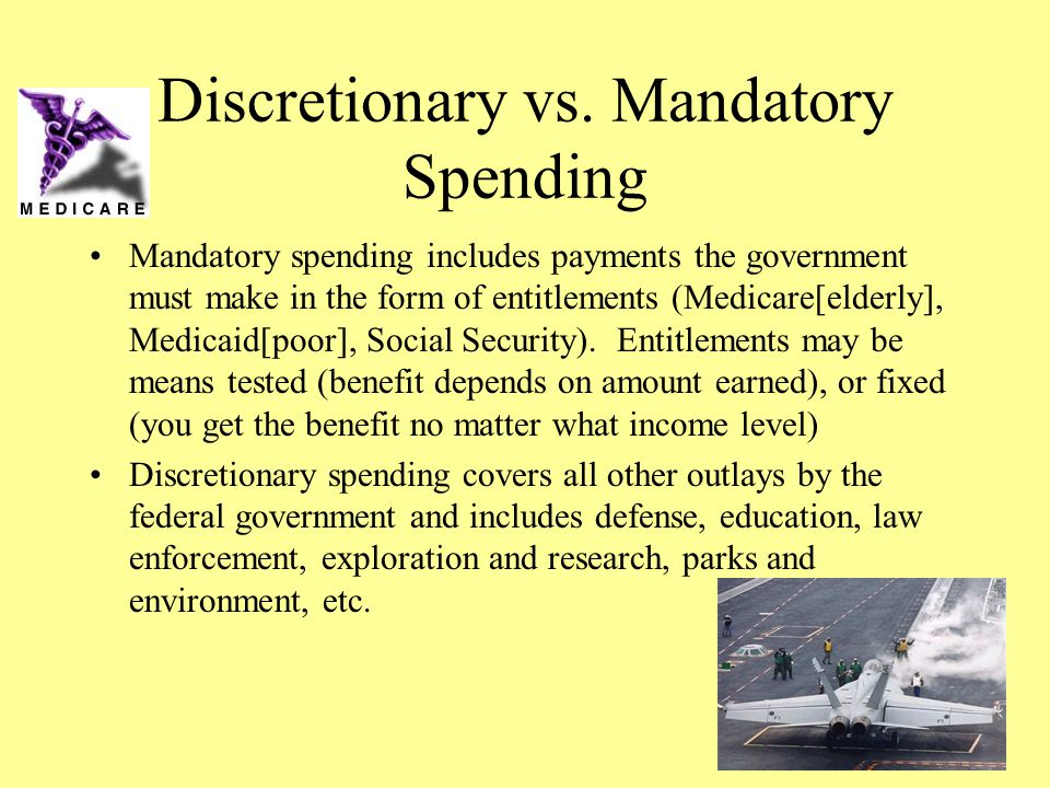 Discretionary vs. Mandatory Spending