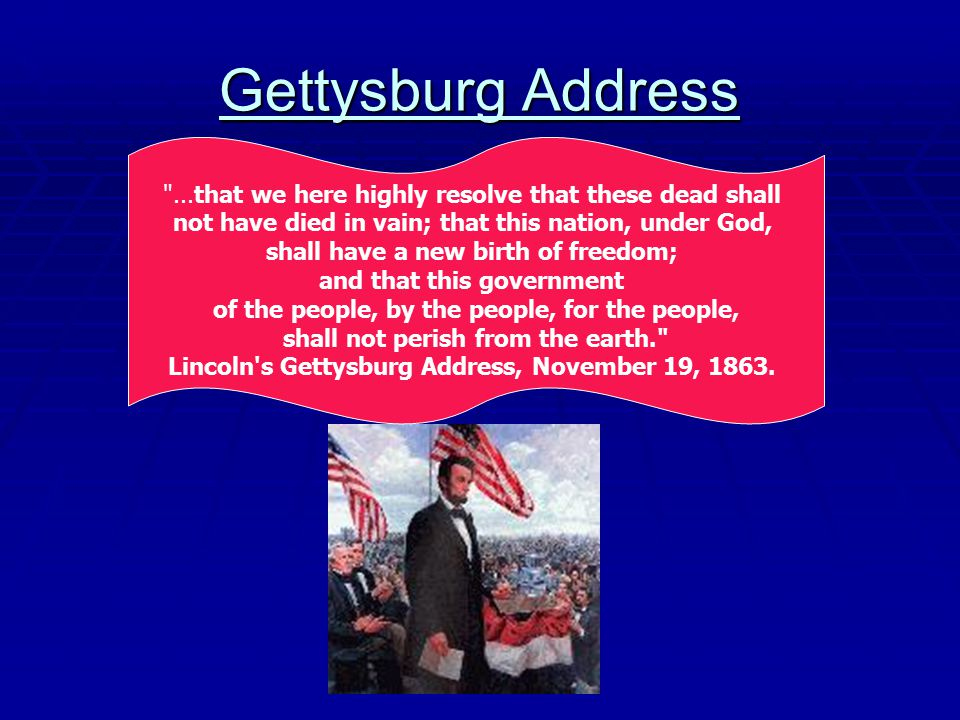 gettysburg address vs emancipation proclamation The importance of the emancipation proclamation was such that a lot of people consider it the most critical that president abraham lincoln made first issued in 1862, it marked the beginning of the end of slavery in united states.