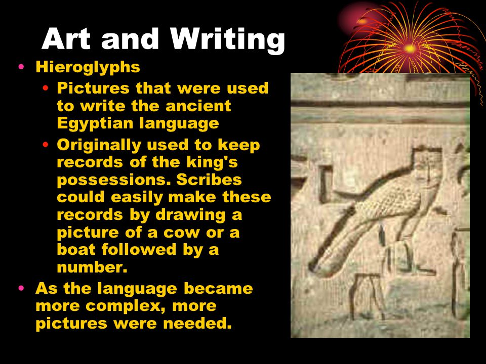 Art and Writing Hieroglyphs