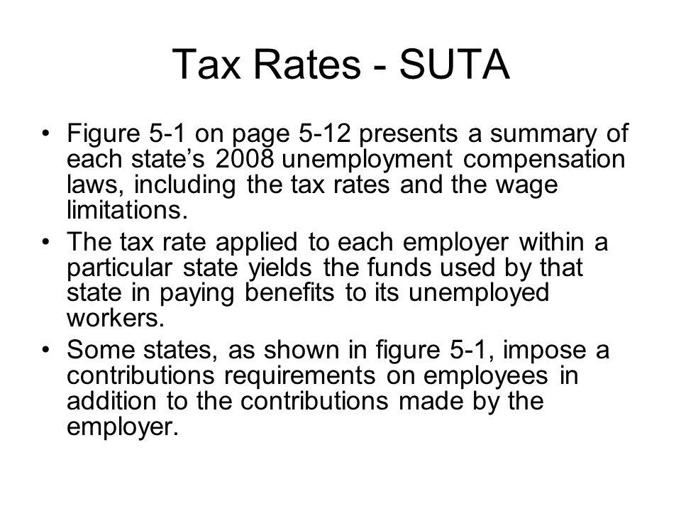 Tax Rates - SUTA
