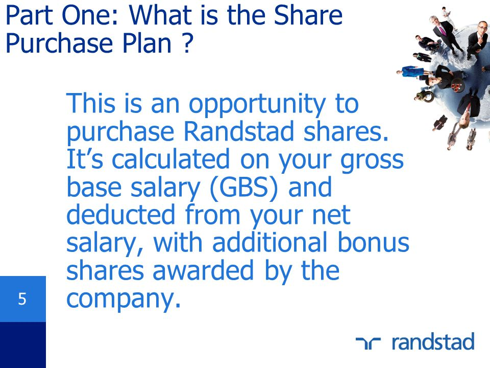 Part One: What is the Share Purchase Plan