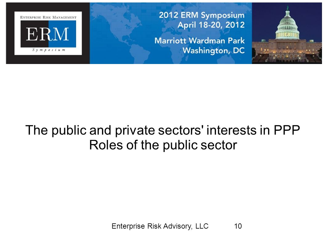 The public and private sectors interests in PPP