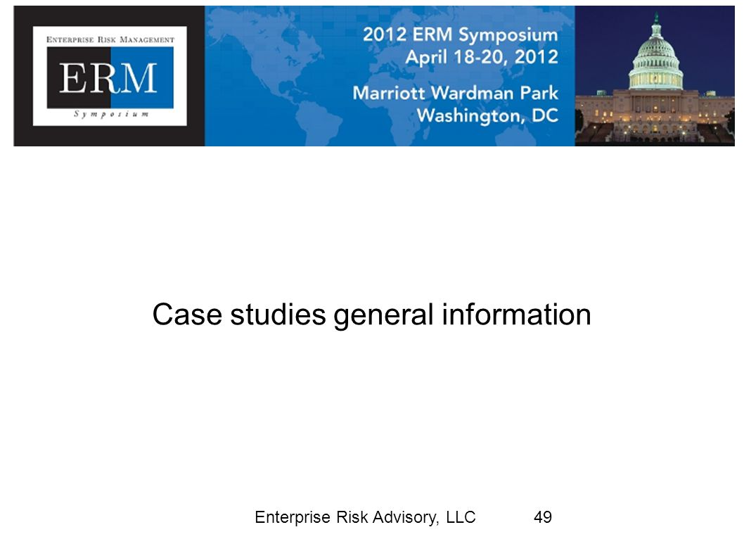 Case studies general information