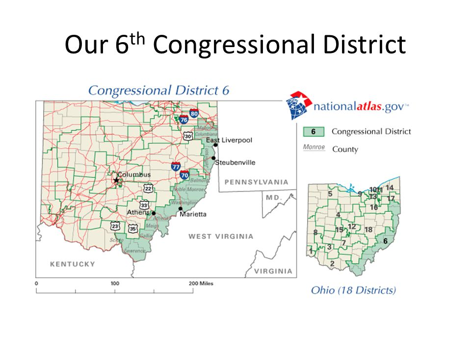 Our 6th Congressional District