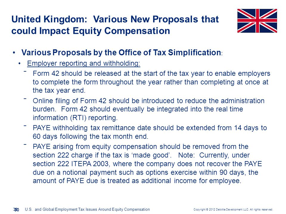 United Kingdom: Government's response to the Office of Tax Simplification's (OTS) proposed changes