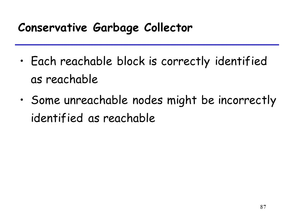 Conservative Garbage Collector