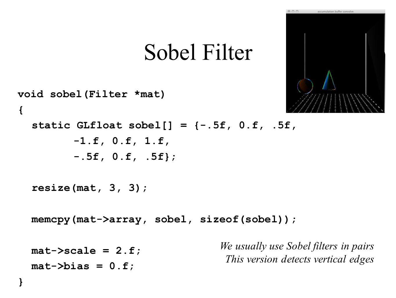 Sobel Filter