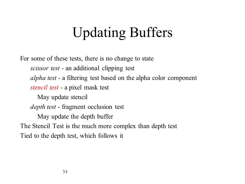 Updating Buffers