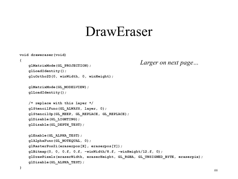 DrawEraser Larger on next page…