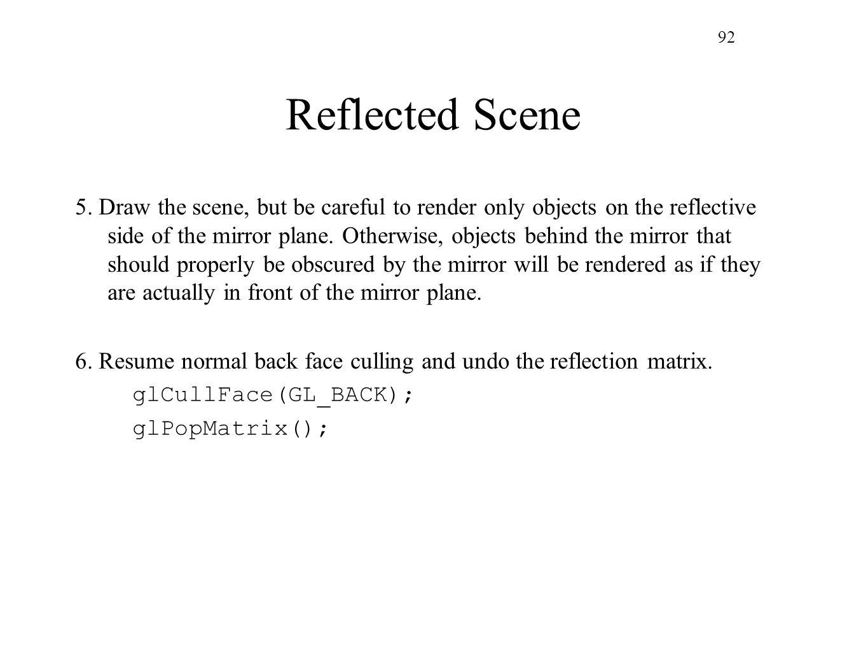 92 Reflected Scene.