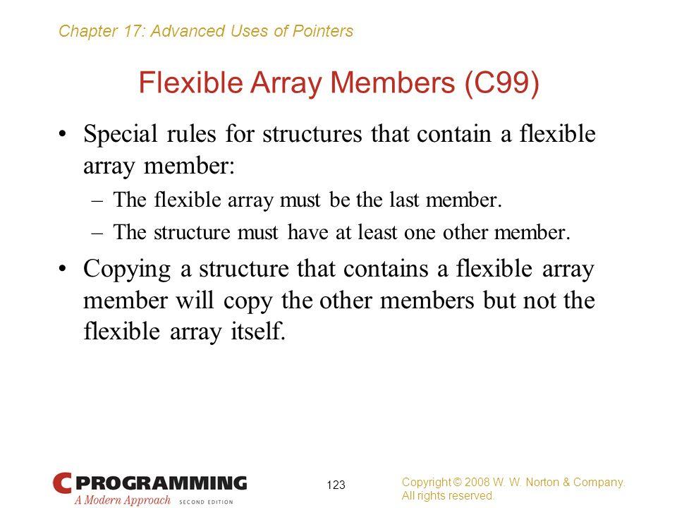 Flexible Array Members (C99)