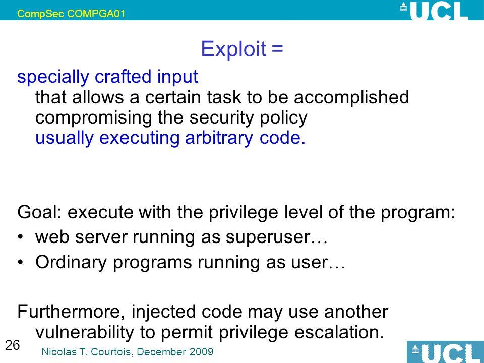 CompSec COMPGA01 Exploit =