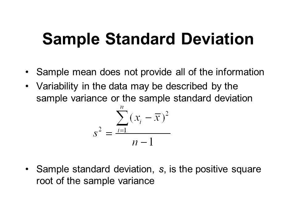 Random Sampling And Data Description - Ppt Download
