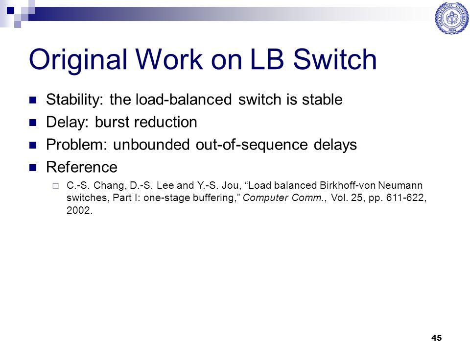 Original Work on LB Switch