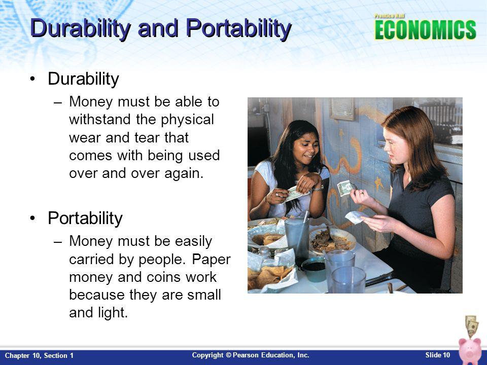 Durability and Portability