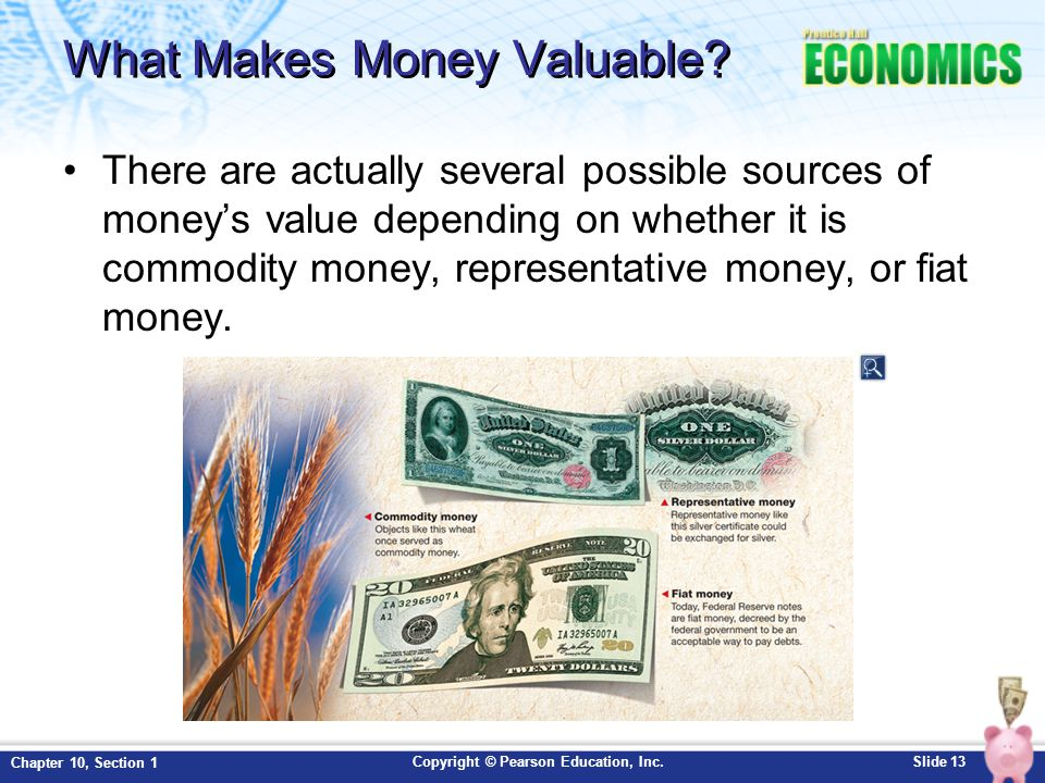 What Makes Money Valuable