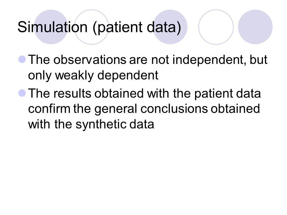 Simulation (patient data)