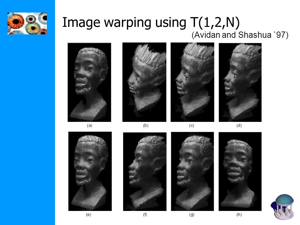 Image warping using T(1,2,N)