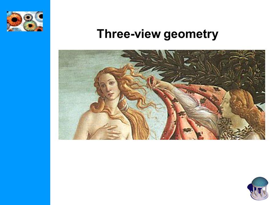 Three-view geometry