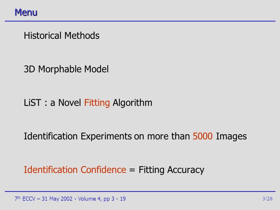 LiST : a Novel Fitting Algorithm