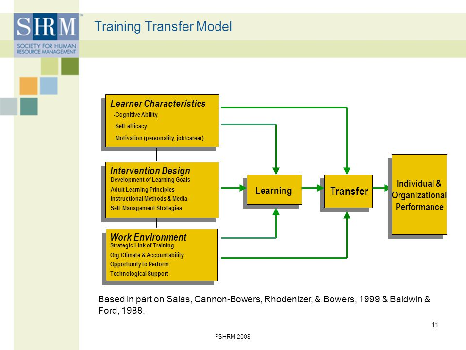 Training Transfer Model