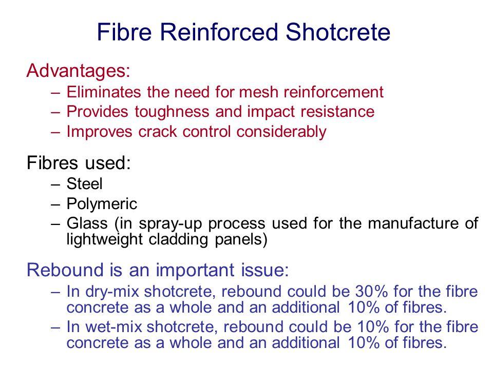 Fibre Reinforced Shotcrete
