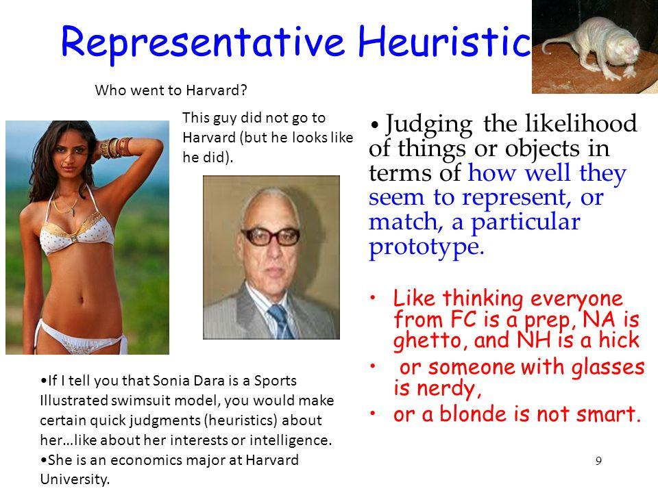 Representative Heuristic