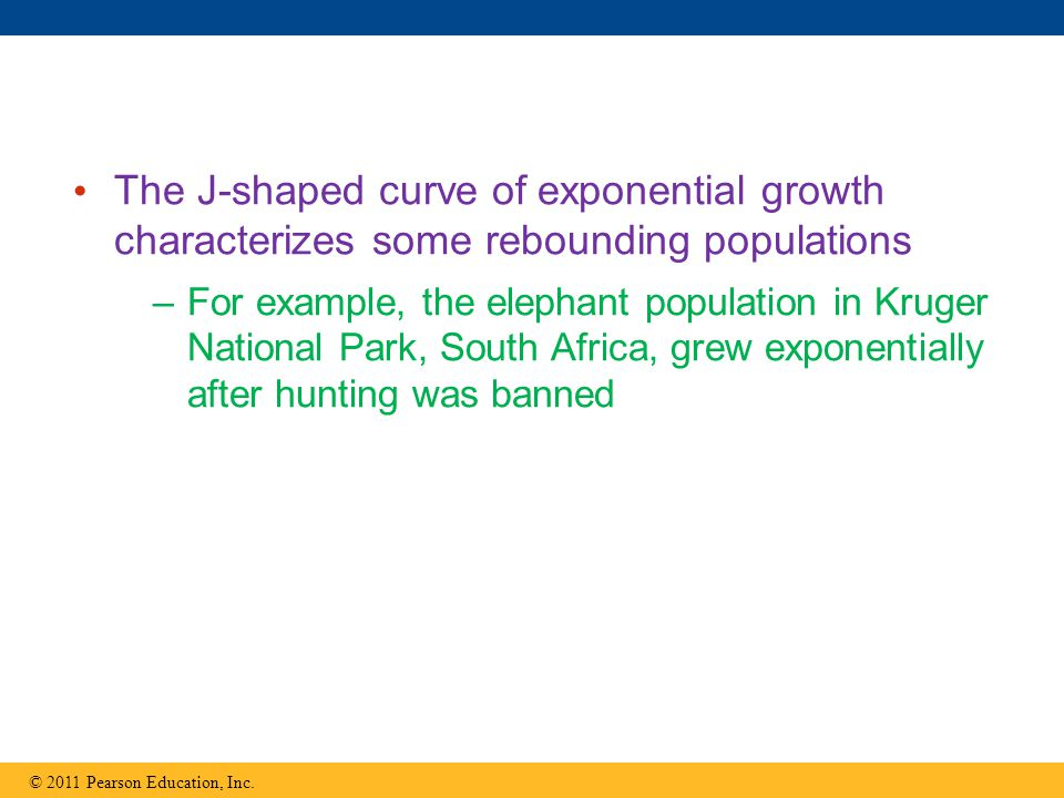 The J-shaped curve of exponential growth characterizes some rebounding populations