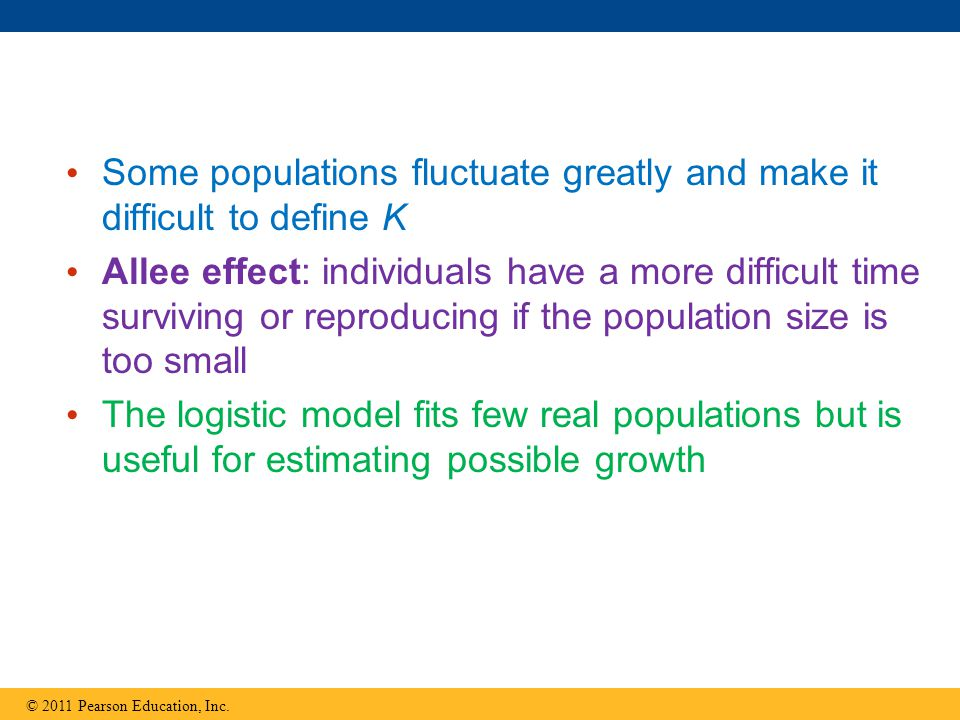 Some populations fluctuate greatly and make it difficult to define K