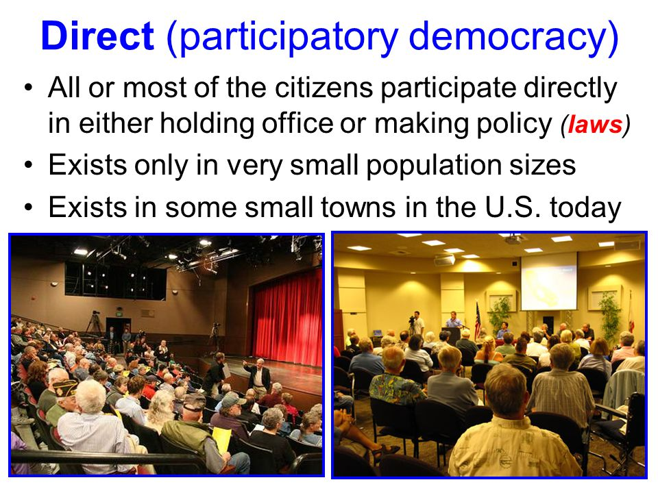 Direct (participatory democracy)