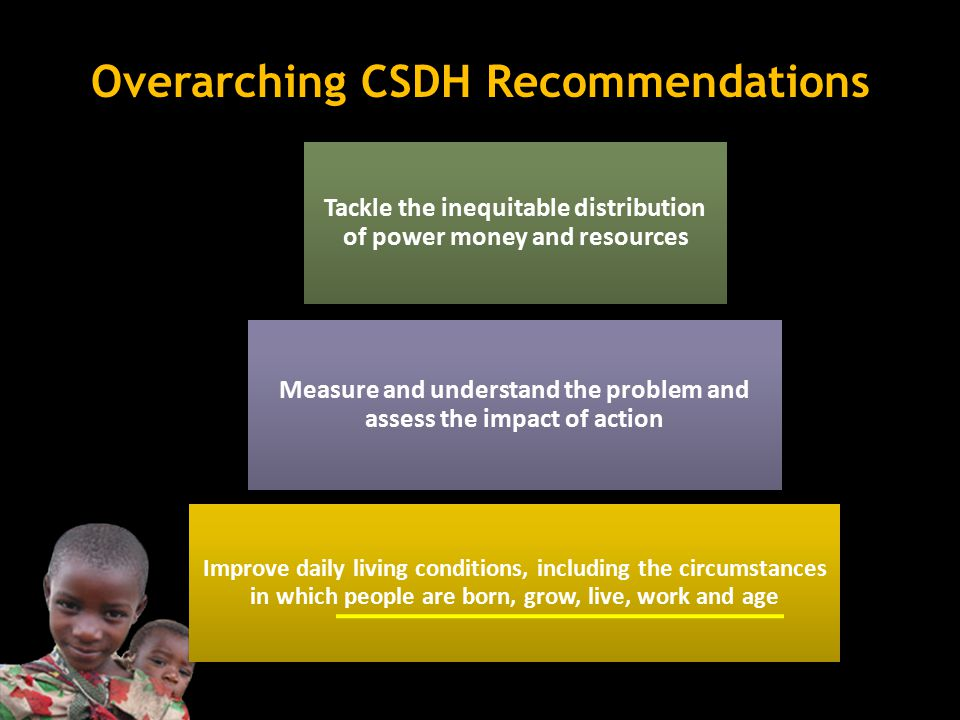 Overarching CSDH Recommendations