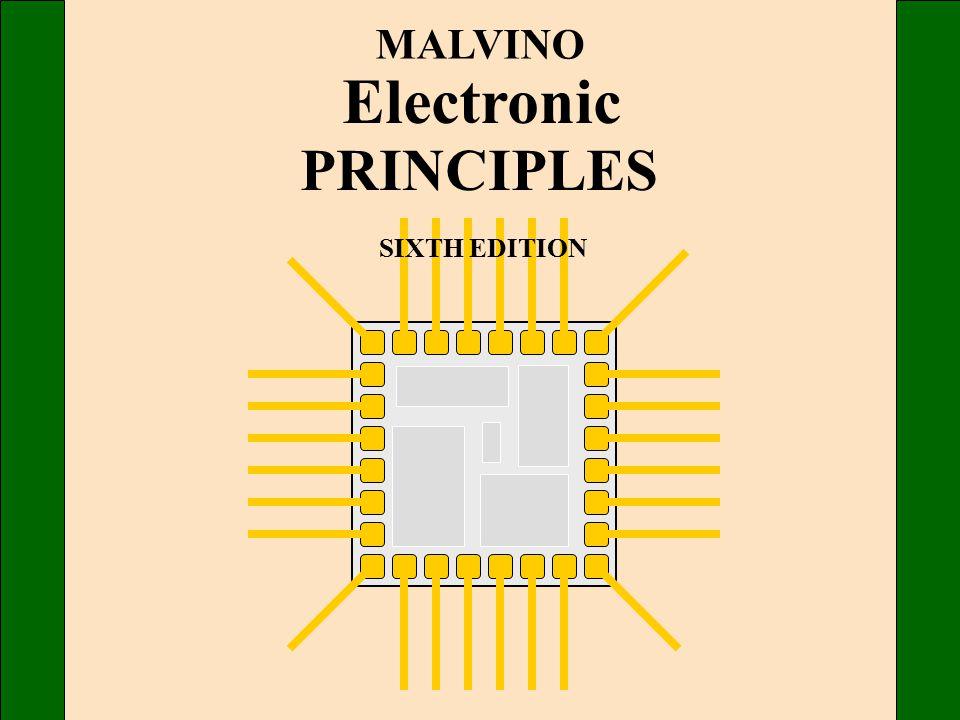 MALVINO Electronic PRINCIPLES SIXTH EDITION