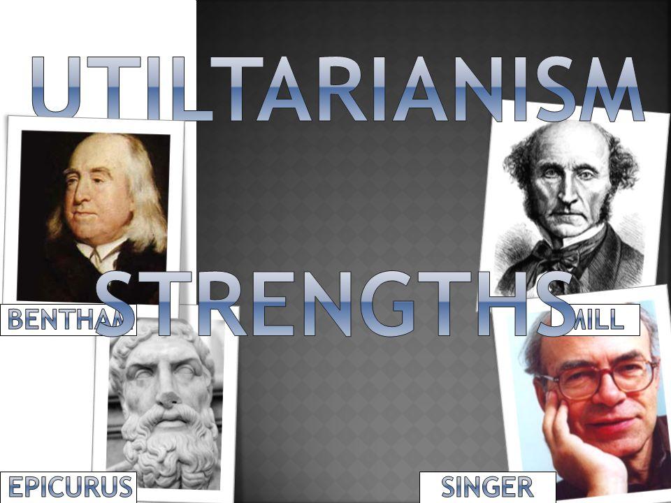 UTILTARIANISM STRENGTHS