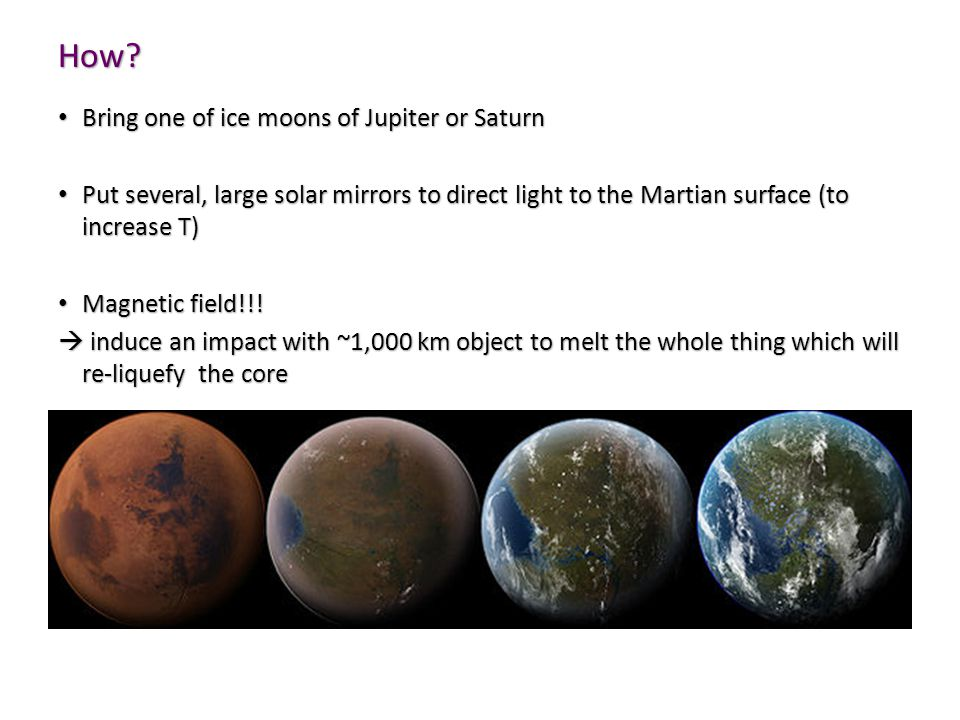 How Bring one of ice moons of Jupiter or Saturn