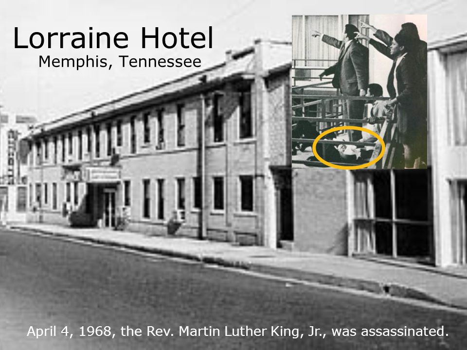 Lorraine Hotel Memphis, Tennessee